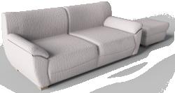 Vreta 2 Seat Sofa And Footstool