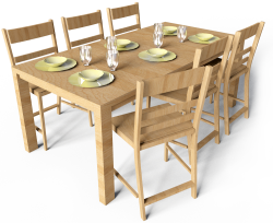 Markor Table And Harald Chairs