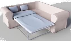 Ektorp 2 Seat Corner Bed Sofa