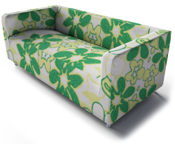 Klippan 2 Seat Sofa Green
