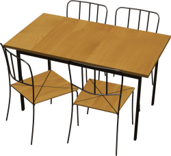Antnas Table And 4 Chairs