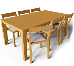 Bjursta Table and Roger Chairs