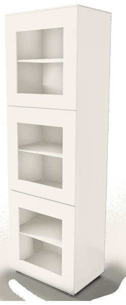 BESTA storage unit white