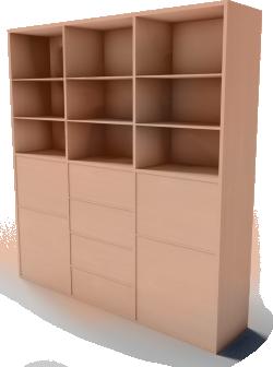 BESTA storage combination with doors drawers