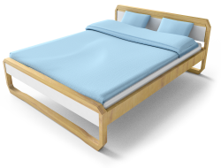 Anes Double  Bed