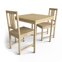 Ingo Table and Stefan Chairs