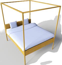 Hemnes Bed 160