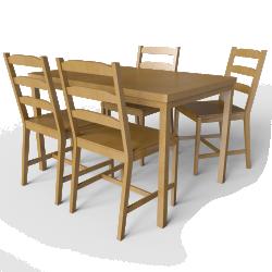 Jokkmokk Table Light Brown