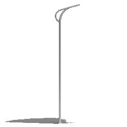 Aluminium column SAL P91