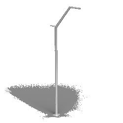 Aluminium column SAL DL 2