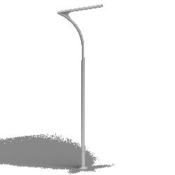 Aluminium column SAL DS 52