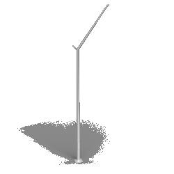 Aluminium column SAL DL 1