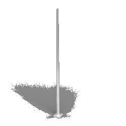Mat cylindro conique droit