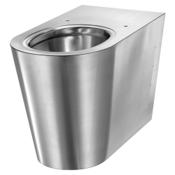 110300  WC S21 P à poser alim. horizontale Inox 304 satiné (ex-0110020001)