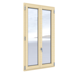 Windows Duoba 2 sash with triple glazing