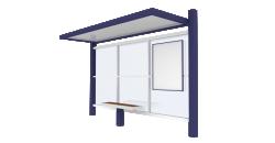 Bus shelter Cirrus etroit